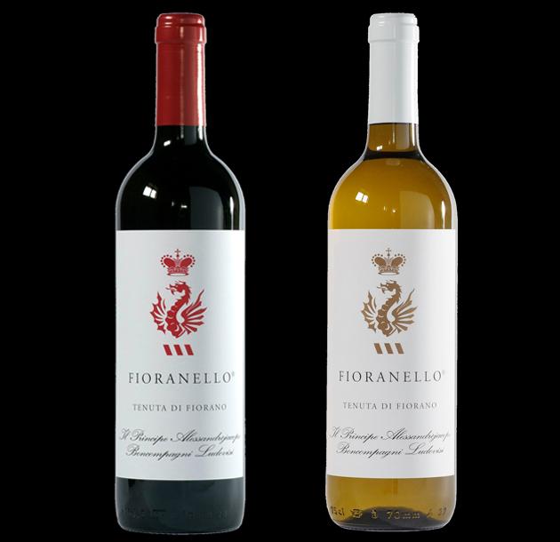 Fiorano - Roma - Vino Fioranello Rosso e Vino Fioranello Bianco