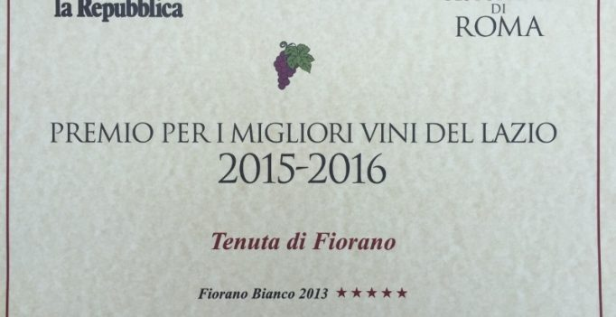 Tenuta di Fiorano, rassegna stampa 2015 - Repubblica