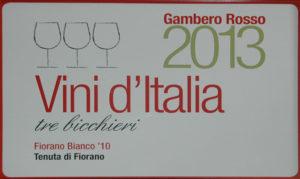 Fiorano Estate Press Review - Tre Bicchieri 2013 PRIZE (2013)